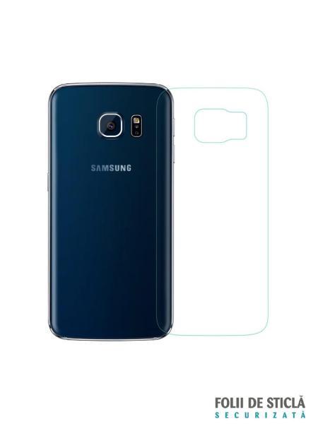 Folie din sticla securizata pentru Samsung Galaxy S6 Edge SPATE