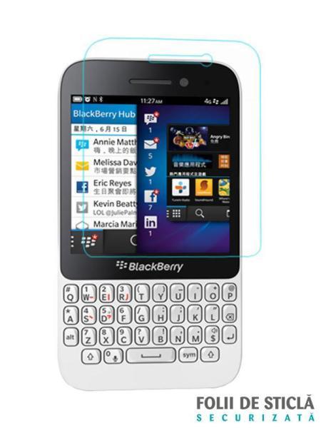 Folie din sticla securizata pentru BlackBerry Q5