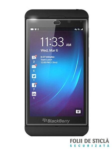 Folie din sticla securizata pentru BlackBerry Z10