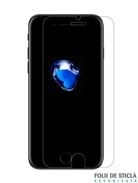 Folie din sticla securizata pentru iPhone 7 Plus / 8 Plus
