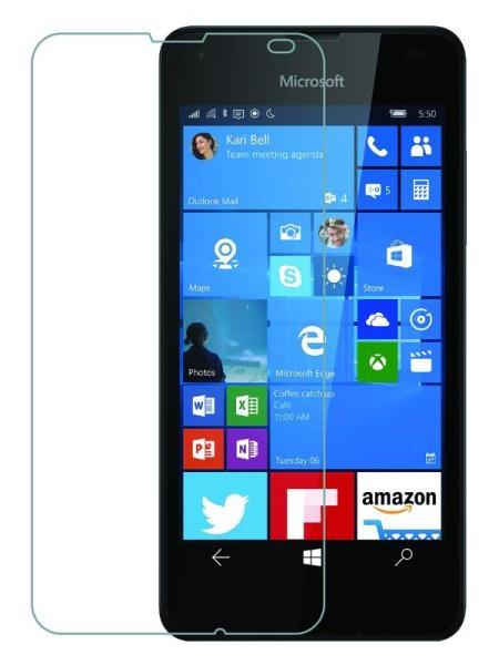 Folie din sticla securizata pentru Microsoft Lumia 550