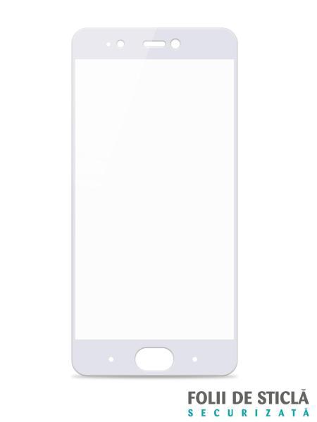 Folie Fullscreen 2.5D din sticla securizata pentru Xiaomi Mi 5S ALB