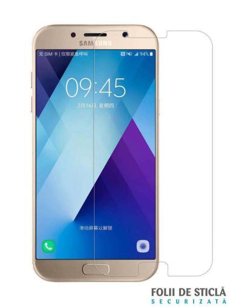 Folie din sticla securizata pentru Samsung Galaxy A7 (2017)