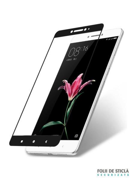 Folie Fullscreen 2.5D din sticla securizata pentru Xiaomi Mi Max NEGRU