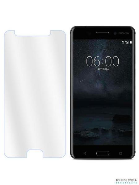 Folie din sticla securizata pentru Nokia 6