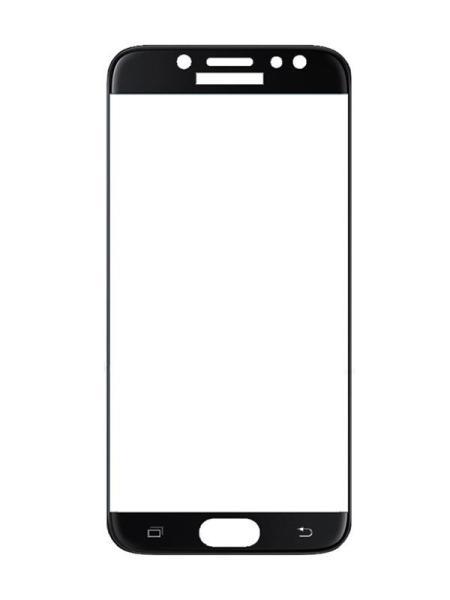 Folie curbată 3D din sticlă securizată pentru Samsung Galaxy J3 (2017) NEGRU