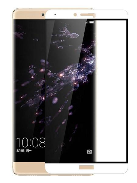 Folie Fullscreen 2.5D din sticla securizata pentru Huawei Honor Note 8 ALB