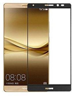 Folie Fullscreen 2.5D din sticla securizata pentru Huawei Mate 8 NEGRU