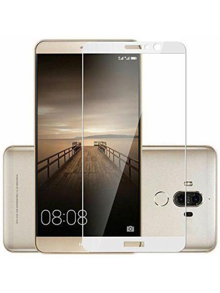 Folie Fullscreen 2.5D din sticla securizata pentru Huawei Mate 9 ALB