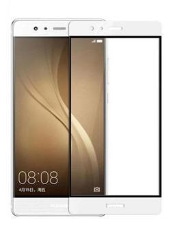 Folie Fullscreen 2.5D din sticla securizata pentru Huawei P9 Plus ALB