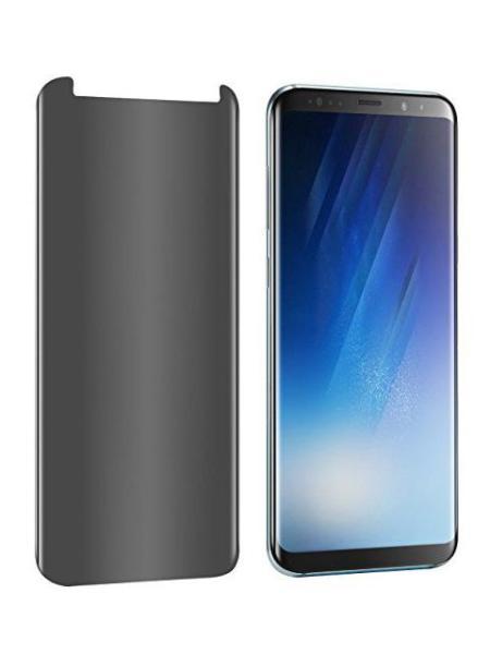 Folie PRIVACY curbată 3D din sticlă securizată pentru Samsung Galaxy S8 (Case-compatible)