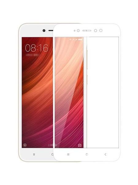 Folie Fullscreen 2.5D din sticla securizata pentru Xiaomi Redmi Note 5A (Y1) ALB
