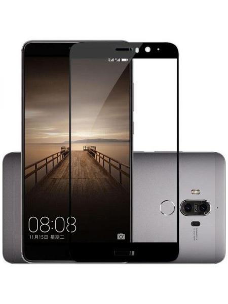 Folie curbată 5D din sticlă securizată pentru Huawei Mate 9 NEGRU - Full glue