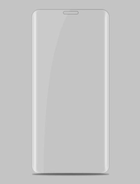 Folie curbată 3D din sticlă securizată pentru Huawei Mate RS Porsche Design TRANSPARENT (full cover)