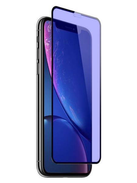 Folie ANTI BLUE-RAY curbată 5D din sticlă securizată pentru iPhone X / XS / 11 Pro