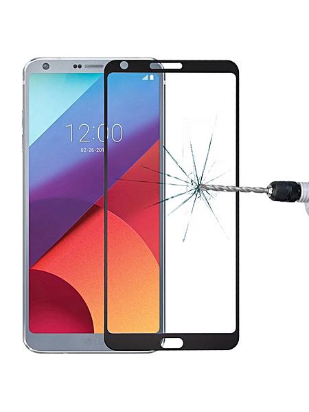 Folie Fullscreen 2.5D din sticla securizata pentru LG G6 NEGRU