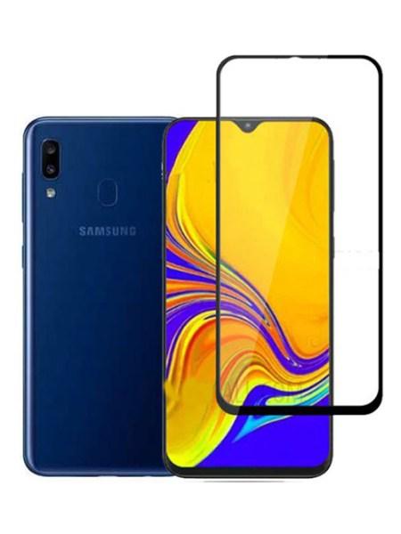 Folie Fullscreen 2.5D din sticla securizata pentru Samsung Galaxy A20 NEGRU