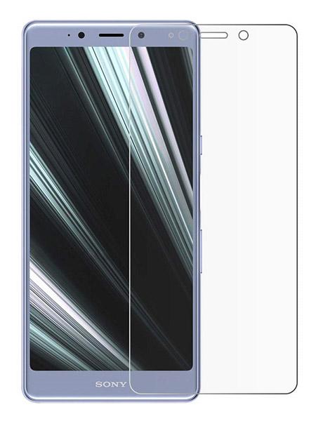 Folie curbată 3D din sticlă securizată pentru Sony Xperia L3 TRANSPARENT (full cover)