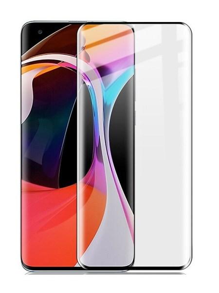 Folie curbată 3D din sticlă securizată pentru Xiaomi Mi 10 / 10 Pro TRANSPARENT