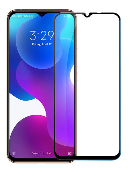 Folie curbată 5D din sticlă securizată pentru Xiaomi Mi 10 Lite (5G) / 10 Youth (5G) NEGRU - Full glue