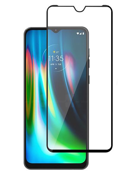 Folie Fullscreen 9D din sticla securizata pentru Motorola Moto G9 / G9 Play / E7 - FULL GLUE