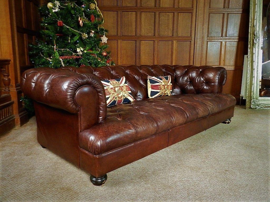 drummond grand leather sofa modern chicago f50 1157 pair of tetrad john lewis antique