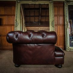 Drummond Grand Leather Sofa Ikea And Loveseat F50 1162 Tetrad Joh Lewis Cigar Antique Brown