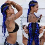 goddess braids hairstyles