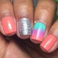 35 Bright Summer Nail Designs  Page 27  Foliver blog