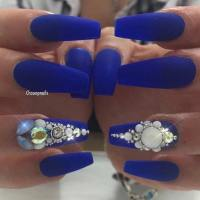 31 Trendy Nail Art Ideas for Coffin Nails  Page 18 ...