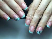 31 Cool French Tip Nail Designs  Page 21  Foliver blog