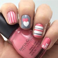 35 Cute Valentines Day Nail Art Designs  Page 24 ...