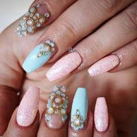 31 Trendy Nail Art Ideas for Coffin Nails  Page 4 ...