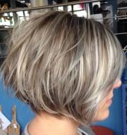 short bob hairstyles layered