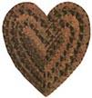Tramp art heart