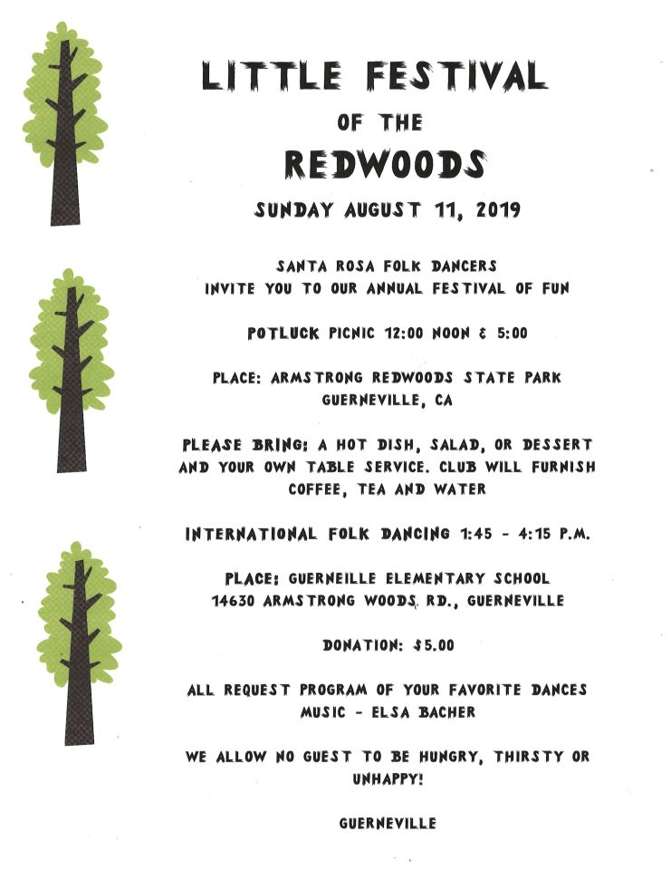 Little Festival of the Redwoods 2019