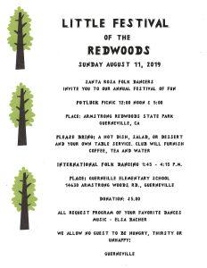 Little Festival of the Redwoods 2019