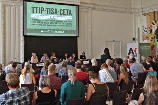 Christiansborg-konference Om TTIP, CETA Og TiSA Nu På Video