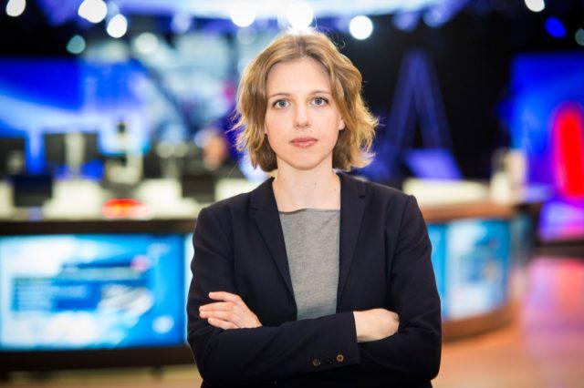 Rina Ronja Kari er medlem er EU-Parlamentet for Folkebevægelsen mod EU. Foto: Olivier Hansen.