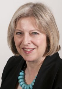 Storbritanniens konservative premierminister Theresa May. Foto: UK Home Office / Wikimedia Commons