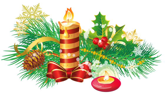 Transparent_Christmas_Candle_PNG_Clipart