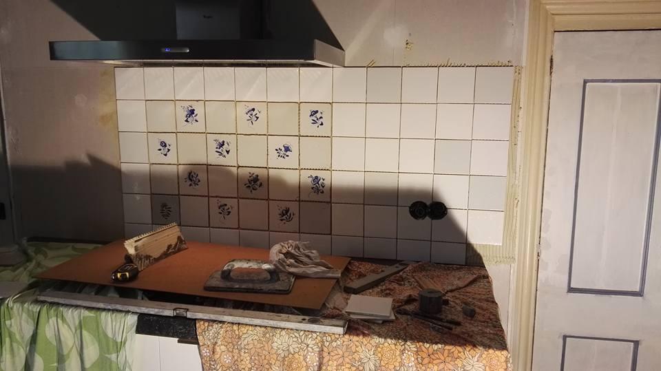Keuken Renoveren Friesland : Renoveren tegelwerk keuken folkertsma metsel en klusbedrijf