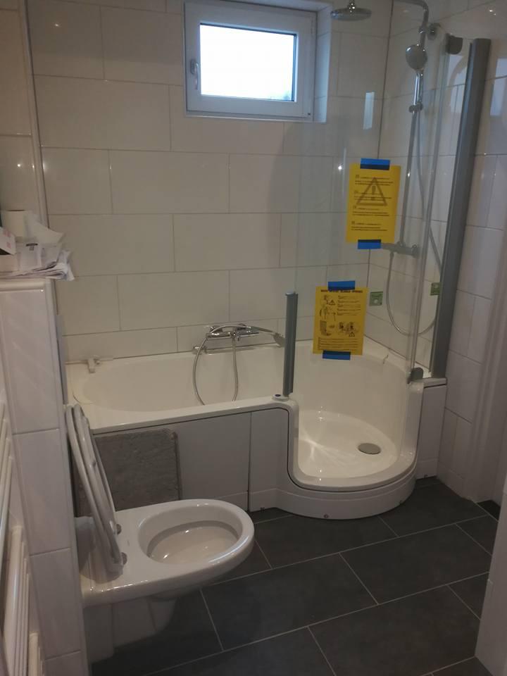Afwerken badkamer - Folkertsma Metsel- en Klusbedrijf