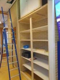 Realisatie opbergkast voor basisschool