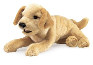 Yellow Labrador Puppy | Folkmanis