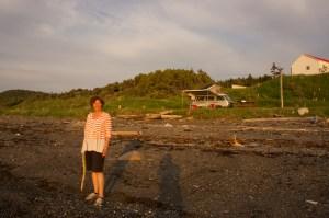 julie-on-beach-sunset