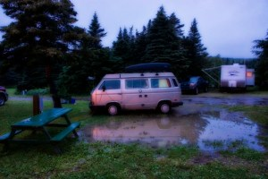 Camping in Port aux Basques