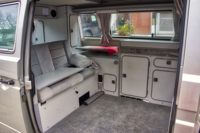 vanagon interior before