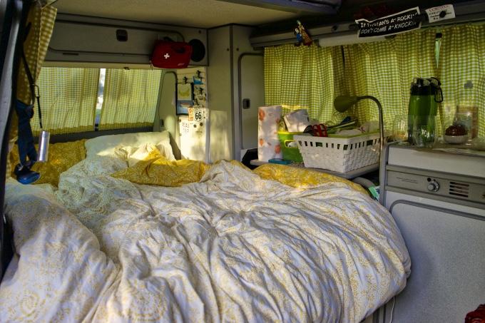 Vanagon bed