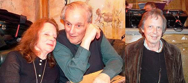 Bonnie Dobson with Tom Paley. Joe Boyd (left)